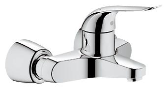 Euroeco Special Relaunch 32777000 ХромСмесители<br>Grohe Euroeco Special Relaunch 32777000 смеситель для раковины. Керамический картридж, регулировка расхода воды.<br>Возможность установки мин. расхода 2,5 л/мин.<br>Ламинарный регулятор струи 9 л/мин.<br>Металлический рычаг.<br>Ограничитель температуры.<br>Поворотный и фиксирующийся литой излив.<br>Скрытые S-образные эксцентрики.<br>С технологией совершенного потока при уменьшенном расходе воды EcoJoy. Монтаж  настенный, на два отверстия.<br>