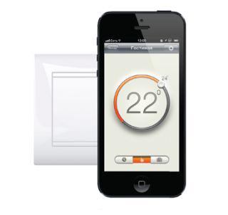 MCS 300 MCS 300Теплые полы<br>Терморегулятор Теплолюкс MCS 300 это система управления комфортом, состоящая из терморегулятора MCS со встроенным модулем Wi-Fi и специального бесплатного приложения для IPhone.<br>