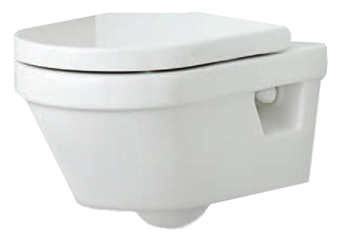 Hygienic Flush WWS 5G84HR01 БелыйУнитазы<br>Чаша подвесного унитаза Gustavsberg Hygienic Flush WWS 5G84HR01. В комплект входят чаша унитаза с крышкой-сиденьем с микролифтом. Цвет белый.<br>