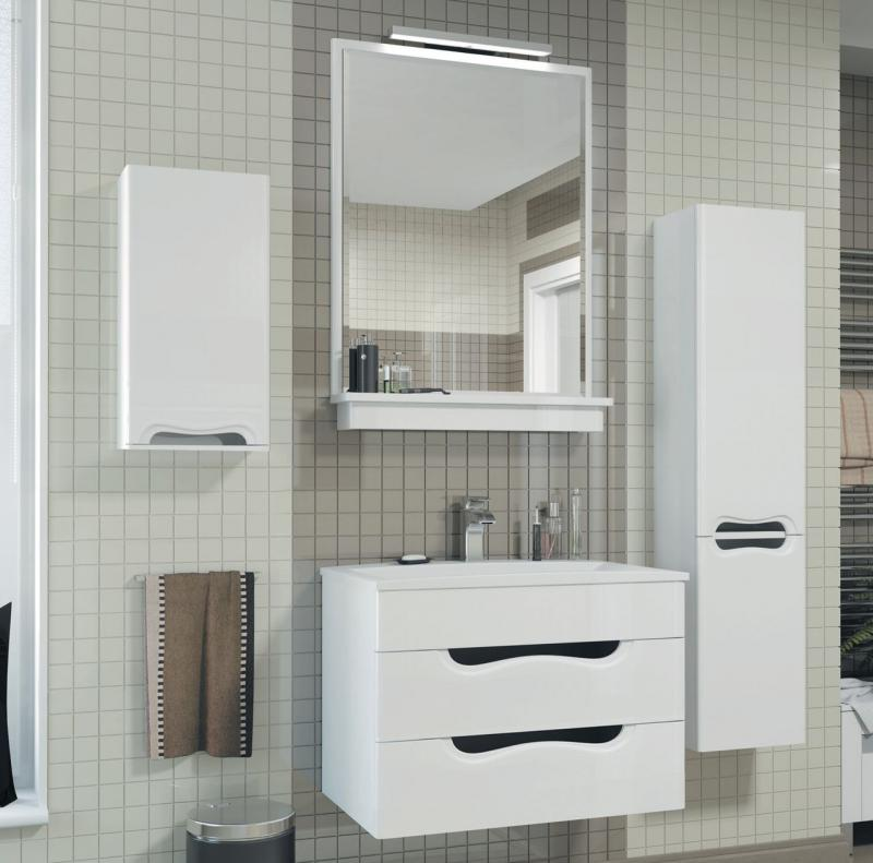 Felice Flc750.91 БелаяМебель для ванной<br>Тумба с раковиной Valente Felice Flc750.91<br>