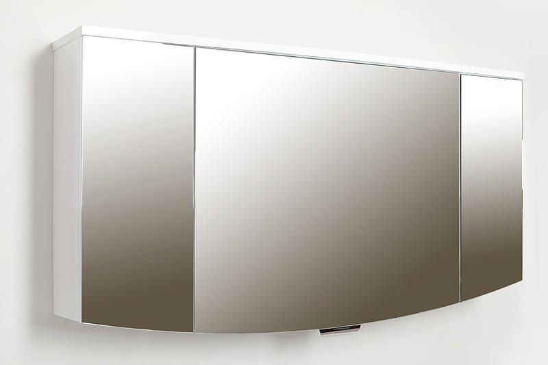 Ispirato Isp1300.12 БелыйМебель для ванной<br>Зеркальный шкаф Valente Ispirato Isp1300.12 с подсветкой.<br>