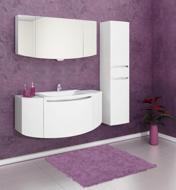Ispirato Isp1300.91 БелаяМебель для ванной<br>Тумба с раковиной Valente Ispirato Isp1300.91<br>