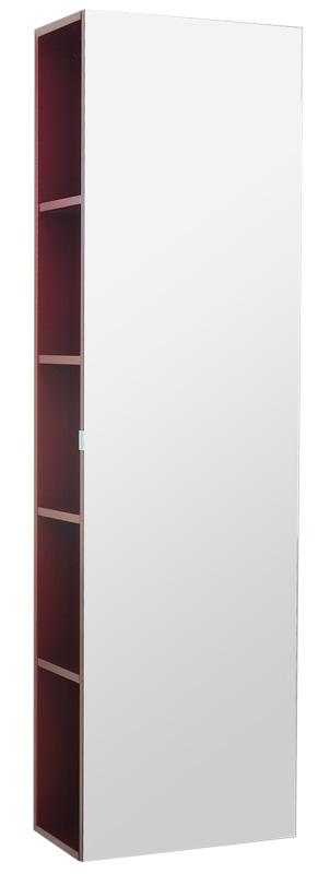 Lacrima Vlt440-59/60 Ме(Г) Красный жемчугМебель для ванной<br>Шкаф-пенал зеркальный Valente Lacrima Vlt440-59/60 Ме(Г) универсал. Можно выбрать шкаф в правом или левом исполнении.<br>