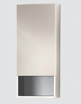 Lacrima Vlt400 12-01/02 LМебель для ванной<br>Зеркальный шкаф Valente Lacrima Vlt400 12-01<br>