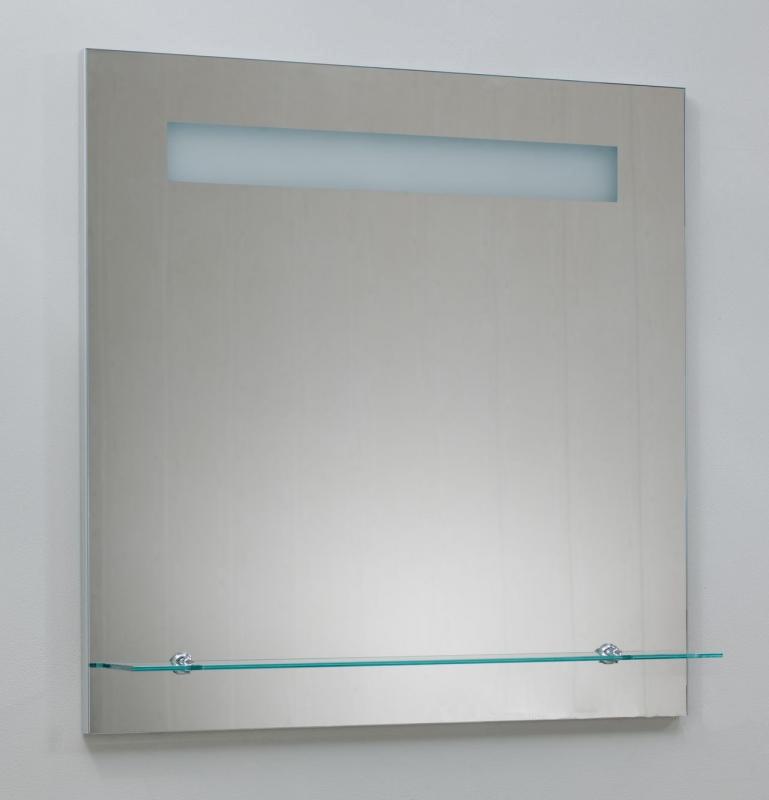 Severita S23.003 С подсветкойМебель для ванной<br>Зеркало Valente Severita S23.003. Зеркало укомплектовано подсветкой, стеклополкой, подогревом и сенсором.<br>