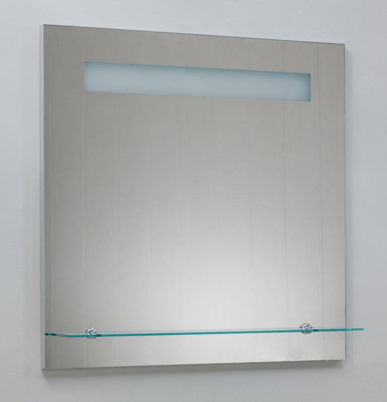 Severita S28.003 С подсветкойМебель для ванной<br>Зеркало Valente Severita S28.003. Зеркало укомплектовано подсветкой, стеклополкой, подогревом и сенсором.<br>