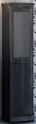 Requerdo R2-57/58 ЧерныйМебель для ванной<br>Шкаф-пенал Valente Requerdo R2-57/58<br>