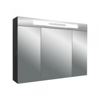 Versante Ver700.12 МеталликМебель для ванной<br>Зеркальный шкаф с подсветкой Valente Versante Ver700.12<br>