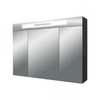 Versante Ver900.12 МеталликМебель для ванной<br>Зеркальный шкаф с подсветкой Valente Versante Ver900.12<br>