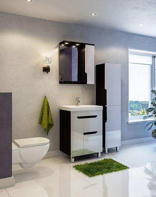 Brioso Brs 700.90-01 БелаяМебель для ванной<br>Тумба с раковиной Valente Brioso Brs 700.90-01<br>