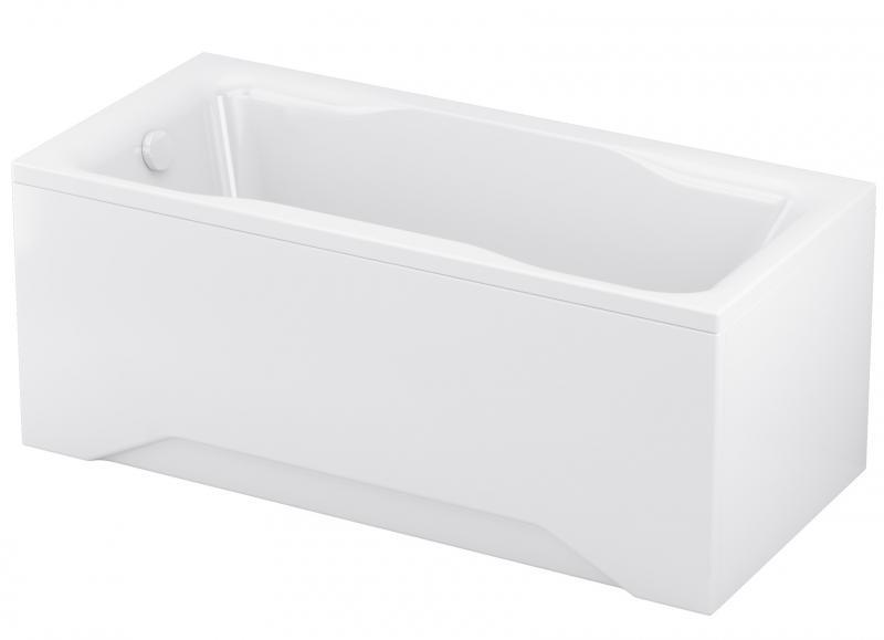Pure 150 БелаяВанны<br>Ванна Cersanit Pure 150. Дополнительно Вы можете приобрести панель и опорную конструкцию (ножки).<br>
