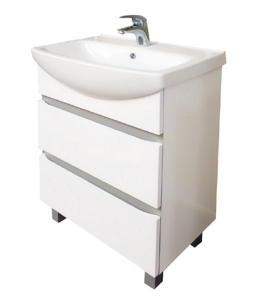Estella Y-SU-EST-CE60 (300109) БелаяМебель для ванной<br>Тумба под раковину Cersanit Estella Y-SU-EST-CE60 (300109) с двумя выдвижными ящиками.<br>