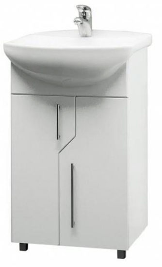 Nova N-SU-NOV-ERI50 (500150) БелаяМебель для ванной<br>Тумба под раковину Cersanit Nova N-SU-NOV-ERI50 (500150).<br>