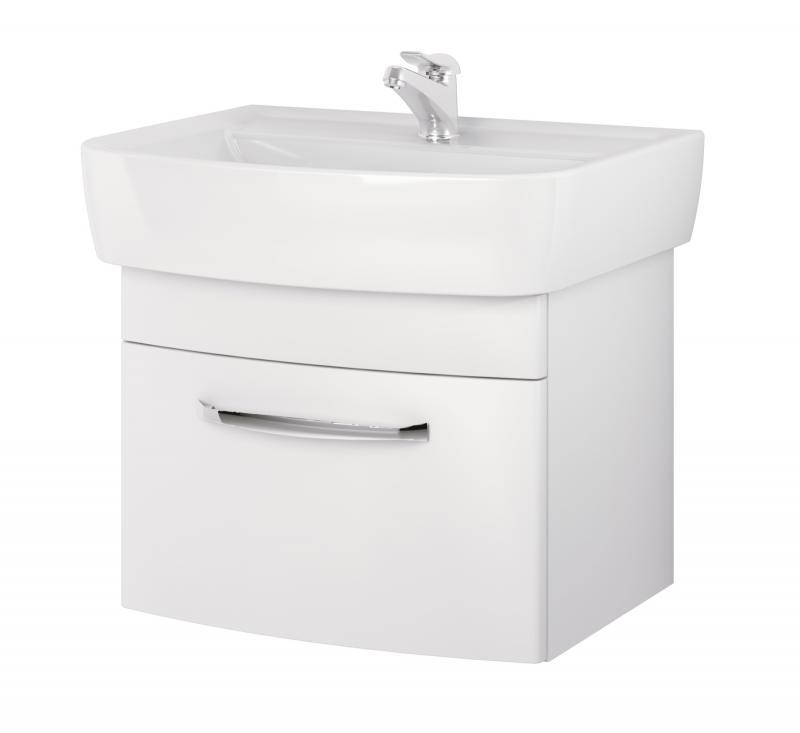 Pure P-SZ-PUR-PU55 (31032) БелаяМебель для ванной<br>Тумба под раковину Cersanit Pure P-SZ-PUR-PU55 (31032).<br>