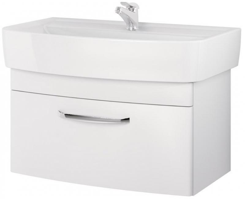 Pure P-SZ-PUR-PU80 (31034) БелаяМебель для ванной<br>Тумба под раковину Cersanit Pure P-SZ-PUR-PU80 (31034).<br>
