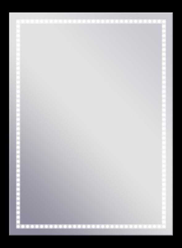 Volano 625х865 ХромМебель для ванной<br>Dubiel Vitrum Volano 625х865 серебряное зеркало для ванной комнаты. В алюминиевом корпусе IP54, с LED периметральной подсветкой. Крепления (крюки) вмонтированы с задней стороны для вертикального или горизонтального размещения.<br>
