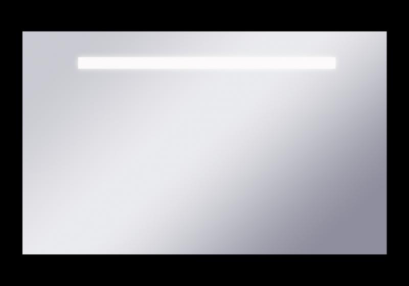 Fondo 1000х600  ХромМебель для ванной<br>Dubiel Vitrum Fondo 1000х600 серебряное зеркало для ванной комнаты. В алюминиевом корпусе IP54, с защитой от пыли и водяных брызг. LED  подсветка-планка. С боковым точечным сенсорным переключателем.<br>