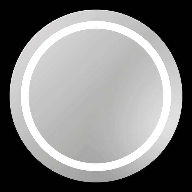 Triton 670х670 ХромМебель для ванной<br>Dubiel Vitrum Triton 670х670 серебряное зеркало для ванной комнаты. <br>С внутренней  LED  подсветкой вдоль матовой окружной обводки. Корпус и рама зеркала выполнены в системе Hicover (с использованием элементов спецпластика). Крепления (крюки) вмонтированы с задней стороны для вертикального или горизонтального размещения.<br>