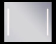 Campo 600х800  ХромМебель для ванной<br>Dubiel Vitrum Campo 600х800  серебряное зеркало для ванной комнаты, с боковым точечным сенсорным переключателем.<br>В алюминиевом корпусе, с системой защиты IP54 - от пыли и водяных брызг. С двумя LED (светодиодными) подсветками-планками из флуоресцентных ламп.<br>