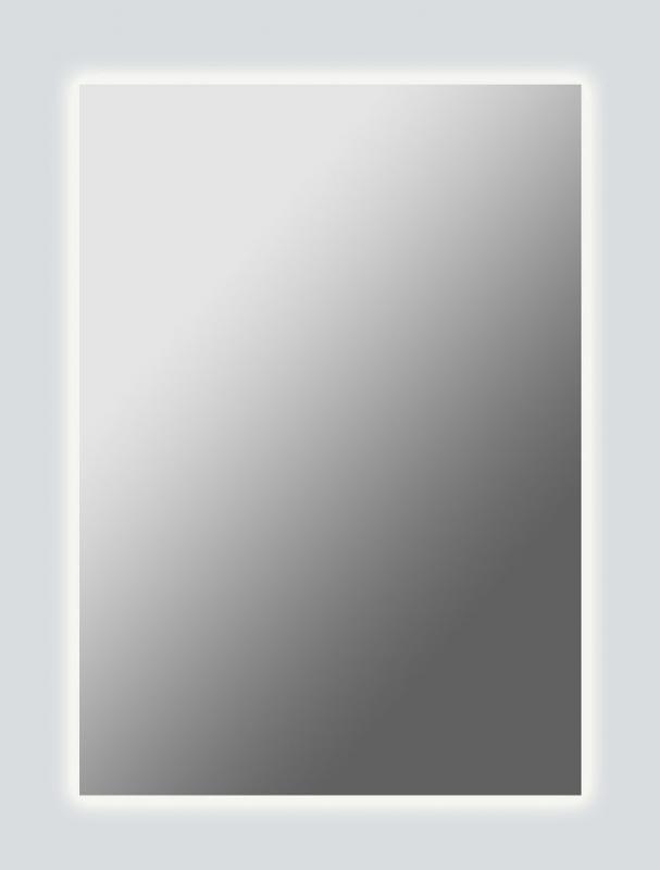 Vittorio 600х770  ХромМебель для ванной<br>Dubiel Vitrum Vittorio 600х770 серебряное зеркало для ванной комнаты.  В матовой зеркальной оправе, в алюминиевом корпусе IP54.  LED периметральная подсветка.<br>