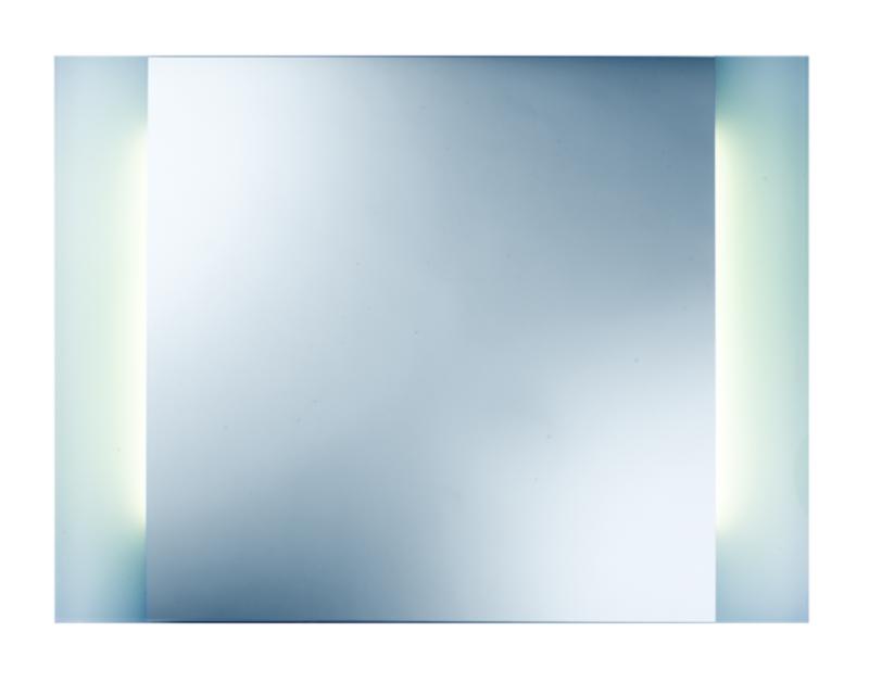 Selene II 800х600 ХромМебель для ванной<br>Dubiel Vitrum Selene II 800х600 серебряное зеркало для ванной комнаты. С двумя планками декор мороз, подсвеченными с задней стороны набором флуоресцентных ламп. С рамой для подсветки с задней стороны зеркала.<br>