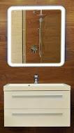 Spectum Prego 650х650  ХромМебель для ванной<br>Dubiel Vitrum Spectum Prego 650х650 серебряное зеркало для ванной комнаты. С внутренней LED периметральной подсветкой, в раме MDF. Между зеркалом и рамой есть расстояние глубиной до 40 мм. Светодиоды, расположенные с зедней (внутренней) стороны зеркала, подсвечивают внутреннюю часть окрашенной рамы, давая разбросанное косвенное освещение.<br>