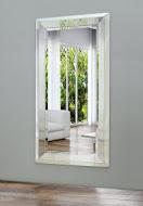 Spectum Ancona Argento 570х940  ХромМебель для ванной<br>Dubiel Vitrum Spectum Ancona Argento 570х940 серебряное зеркало для ванной комнаты в декоративной античной серебристой зеркальной раме.<br>
