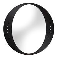 Idea C 600х600 ЧерноеМебель для ванной<br>Dubiel Vitrum  Idea C 600х600 зеркало для ванной комнаты. С окантовкой в виде печатного изображения (прокрашенного) чёрного цвета и роскошными декоративными кристаллами.<br>