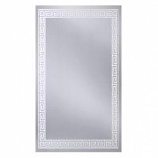 S N2P 500x700 БелоеМебель для ванной<br>Dubiel Vitrum S N2P 500x700 серебряное прямоугольное <br>зеркало для ванной комнаты. <br>С белой окантовкой в виде печатного изображения. Крепления (крюки) прикреплены к обратной стороне зеркала так, что зеркало может подвешиваться вертикально или горизонтально.<br>