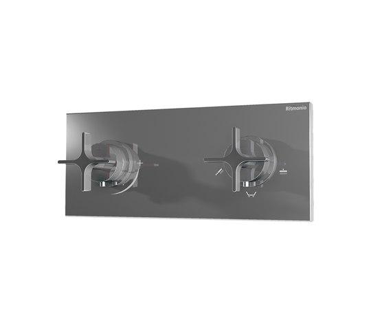 HOBA1046 CRL (Хром)Смесители<br>Смеситель для ванны/душа WATERBLADE HOBA1046 CRL встраиваемый в стену,с термостатом. Цвет: хром.<br>