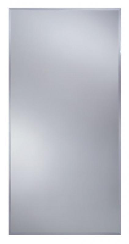 Prostokat F 500x600 ХромМебель для ванной<br>Dubiel Vitrum Prostokat F 500x600 серебряное прямоугольное зеркало для ванной комнаты, без рамы. Встроенные крепления (крюки) приклеены к задней стороне зеркала. Таким образом, зеркало может подвешиваться вертикально или горизонтально.<br>
