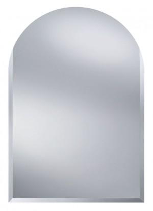 Agat II  400x600 ХромМебель для ванной<br>Dubiel Vitrum Agat II  400x600 серебряное зеркало для ванной комнаты. Без рамы,  с полукруглым верхом. Встроенные крепления (крюки) приклеены к задней стороне зеркала.<br>