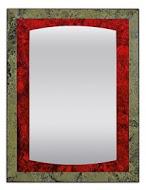 Spectum Kantata Rubino 700х1200 РубинМебель для ванной<br>Dubiel Vitrum Spectum Kantata Rubino 700х1200 серебряное зеркало для ванной комнаты. В декоративной античной раме из точно вырезанных и отполированных фрагментов уникальных античных зеркал рубинового цвета.<br>