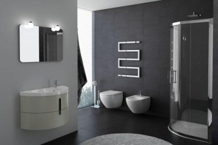 Moon 775 Rovere GrigioМебель для ванной<br>Тумба с раковиной Idea Group Moon 775. Цвет Rovere Grigio.<br>