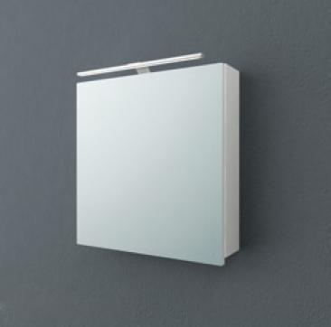 Jolie TOJ 60 БелыйМебель для ванной<br>Зеркальный шкаф подвесной Kolpa San Jolie 60 со встроенной подсветкой.<br>