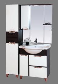 Франко-65 Венге/белаяМебель для ванной<br>Тумба под раковину Misty Франко-65 с 1 распашной дверцей и 2 ящиками в комплекте с раковиной. Цвет венге/белый.<br>