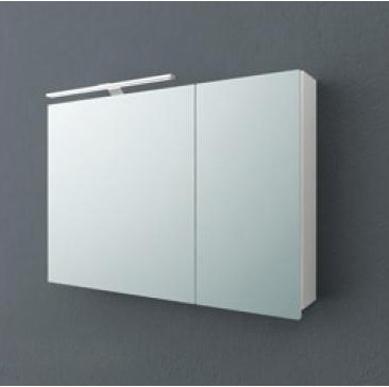 Jolie TOJ 90 БелыйМебель для ванной<br>Зеркальный шкаф подвесной Kolpa San Jolie 90 со встроенной подсветкой.<br>
