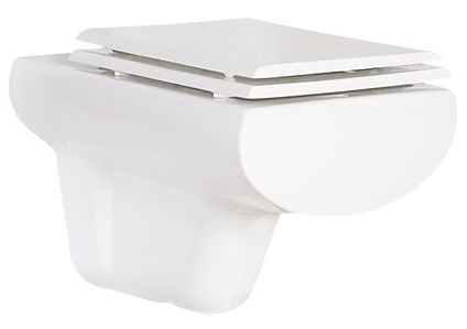 Унитаз Creavit Slim SM320 Белый slim