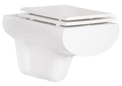 Slim SM321 БелыйУнитазы<br>Creavit Slim SM321 подвесной унитаз. С горизонтальным выпуском. Крышка-сиденье приобретается отдельно.<br>