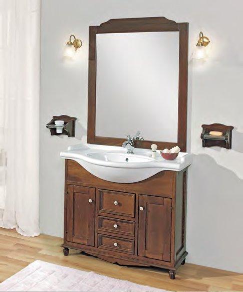 Star 95 PatinatoМебель для ванной<br>Тумба под раковину Cezares Star 95 с тремя выдвижными ящиками и двумя распашными дверцами.<br>