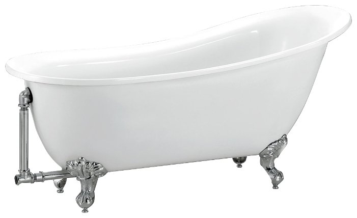 BB06-1700 БелаяВанны<br>Отдельностоящая акриловая ванна Belbagno BB06-1700. Цена указана за ванну. Слив-перелив, ножки и кронштейн приобретается отдельно. Ножки и слив-перелив предоставляются в трех цветах на Ваш выбор. Так же возможны различные варианты исполнения ножек.<br>