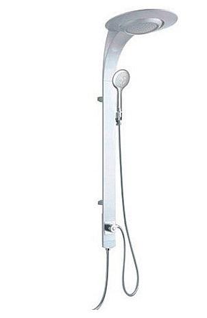SL066-CS (172915) ХромДушевые системы<br>Gllon SL066-CS Душевая система (172915). В комплекте: расслабляющий верхний душ, душевой шланг, душевая лейка, держатель для душевой лейки.<br>