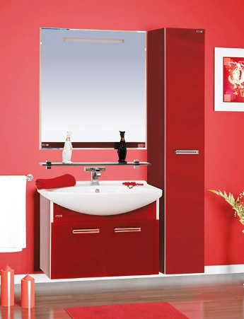 Джулия - 65 подвесная ЧернаяМебель для ванной<br>Тумба в комплекте с раковиной Misty Джулия - 65 подвесная. Цвет черный.<br>