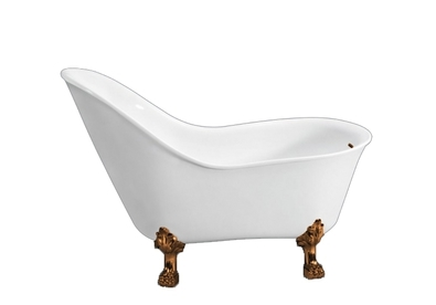 BB08-BRN С ножкамиВанны<br>Свободностоящая акриловая ванна Belbagno BB08-BRN, исполнение бронза. Слив-перелив, ножки и кронштейн приобретается отдельно. Ножки предоставляются в двух вариантах на Ваш выбор.<br>