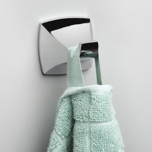 Wern K-2523 ХромАксессуары для ванной<br>Крючок для полотенца Wasser Kraft Wern K-2523. Хромоникелевое покрытие (устойчиво к потускнению, легко очищается и придает аксессуарам зеркальный блеск).<br>