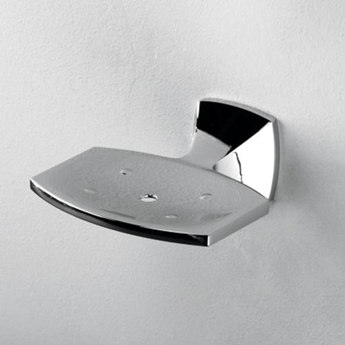 Wern K-2569 ХромАксессуары для ванной<br>Мыльница решетка Wasser Kraft Wern К-2569. Хромоникелевое покрытие (устойчиво к потускнению, легко очищается и придает аксессуарам зеркальный блеск).<br>