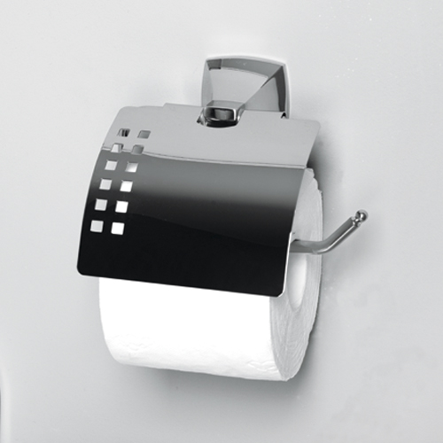Wern K-2525 ХромАксессуары для ванной<br>Держатель туалетной бумаги с крышкой WasserKRAFT Wern К-2525. Хромоникелевое покрытие, устойчивое к потускнению, легко очищается и придает аксессуарам зеркальный блеск.<br>