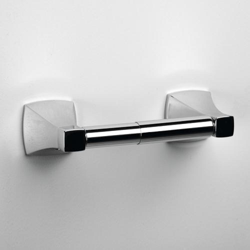 Wern K-2522 ХромАксессуары для ванной<br>Держатель туалетной бумаги Wasser Kraft Wern К-2522. Хромоникелевое покрытие (устойчиво к потускнению, легко очищается и придает аксессуарам зеркальный блеск).<br>