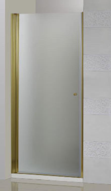 Pordenone B-1-60-P-Br/G-L(R) Золото праваяДушевые ограждения<br>Душевое ограждение Cezares Pordenone B-1-60-P-G-R. Текстурное стекло. Поддон приобретается отдельно.<br>