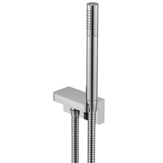 230 1670 ХромДушевые гарнитуры<br>Душевой набор с настенным держателем Steinberg 230 1670. В комплект входит ручной душ, хромированный настенный держатель, гибкий шланг. Цвет хром.<br>